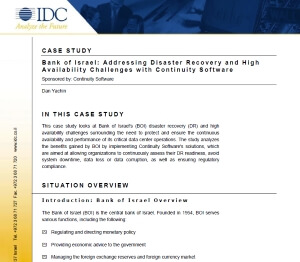Bank of Israel Case study IDC