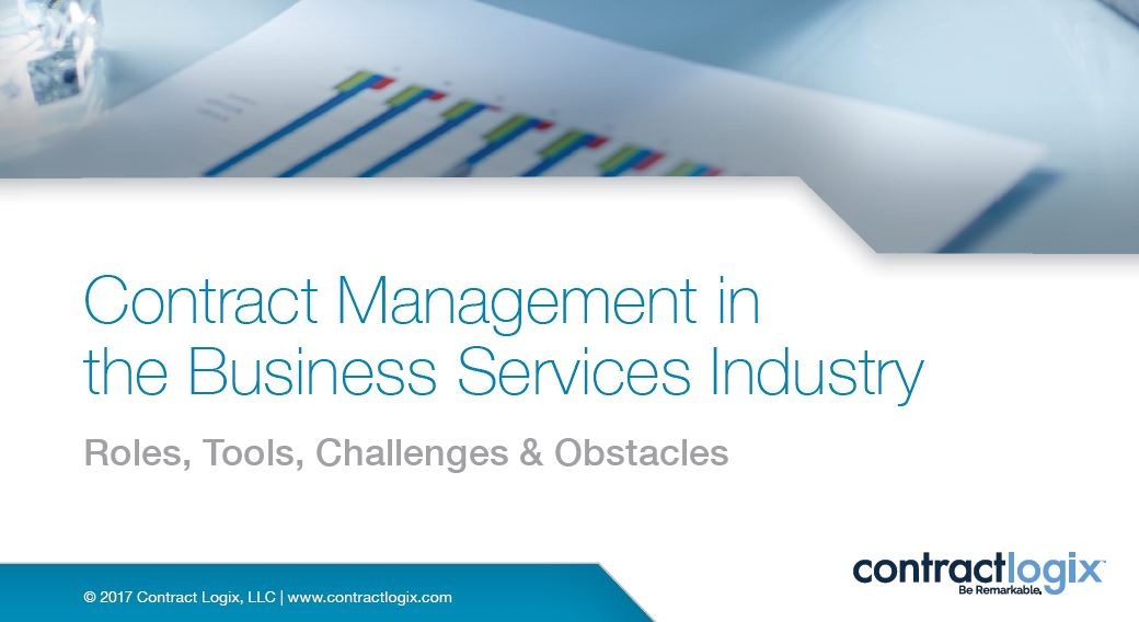 Contract Management in the Business Services Industry Roles, Tools
