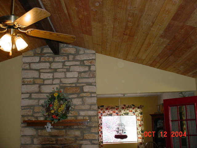 Laminate Hardwood Floor On Ceiling?