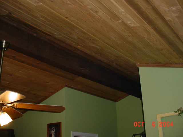 Laminate Hardwood Floor On Ceiling?