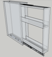 Cabinetmakers! Advise Slide Hardware For A Spice Pullout ...