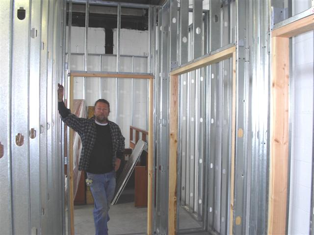 First Time Framing With Steel Studs - Remodeling - Contractor Talk