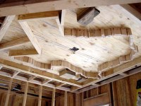 Custom Ceiling Or Wall Framing Feature - Carpentry Picture ...