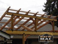 Pergola Rafter Brackets | Outdoor Goods