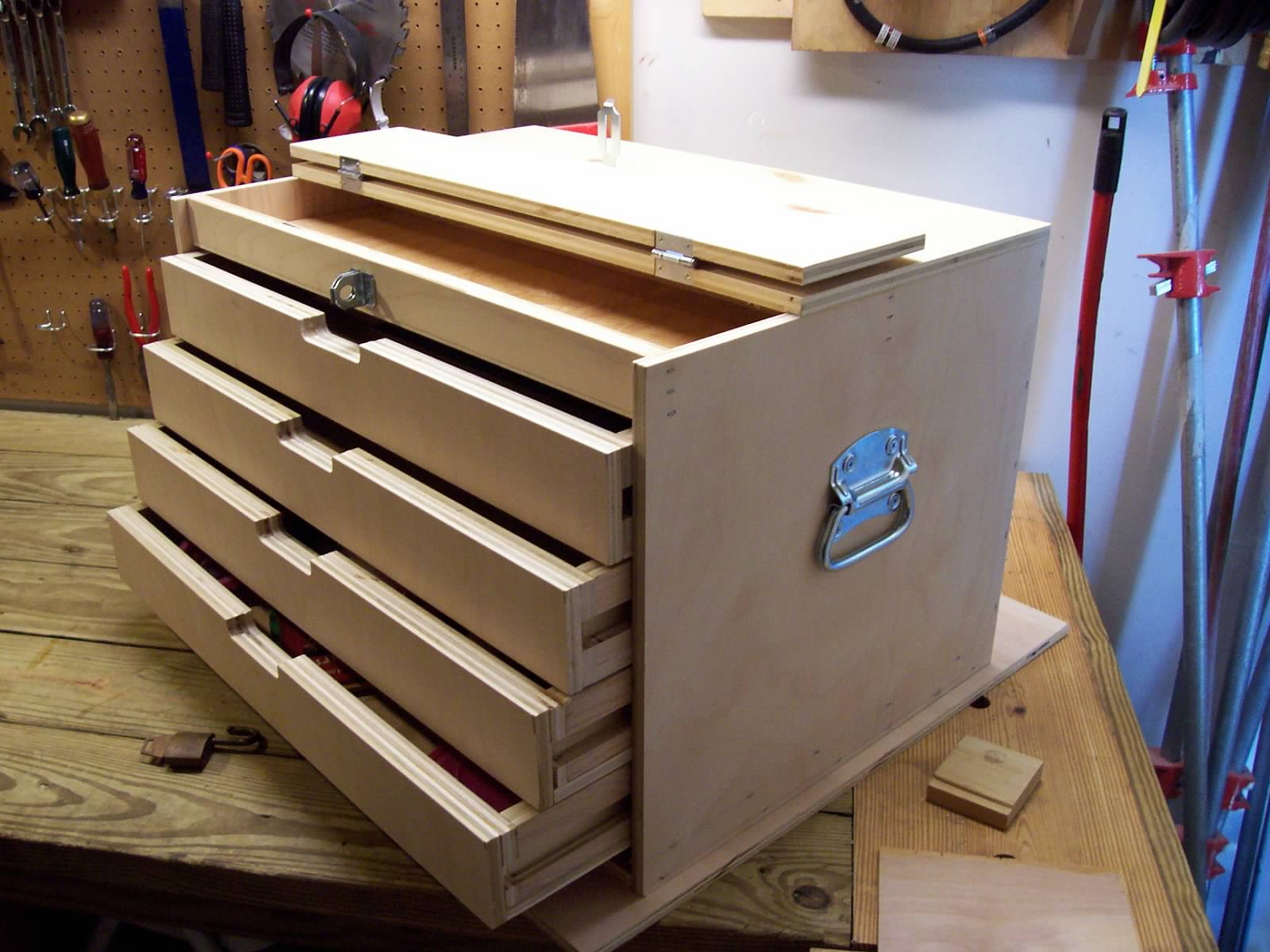 Woodworking Toolbox Plans With Popular Innovation