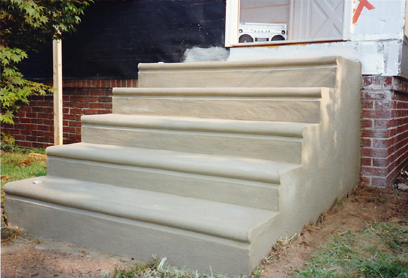 Block Base For Concrete Stairs Masonry Contractor Talk