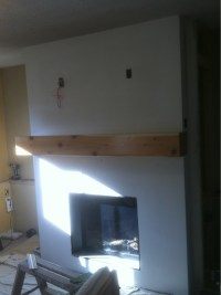 Achieving A Paintable Fireplace Surround With Cement Board ...