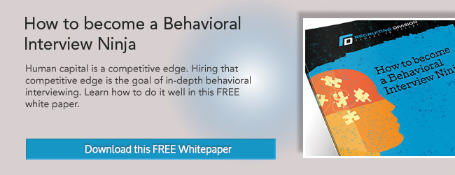 Master the Behavioral Interview Contract Recruiter