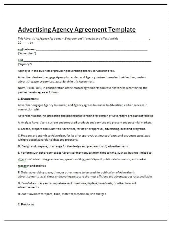 free online contracts templates - 28 images - agreement templates