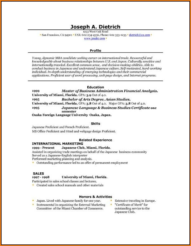 Resume Template Builder Free Download