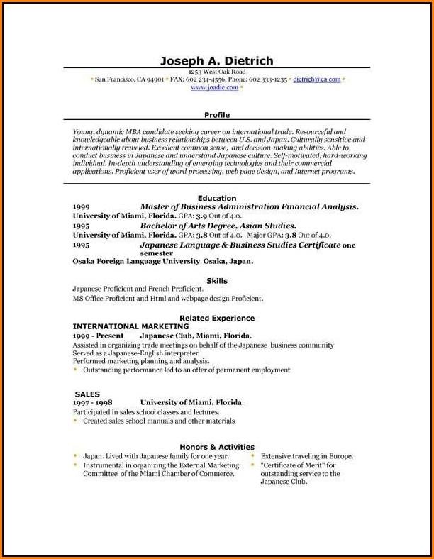 Free Editable Resume Template Microsoft Word - Resume  Resume
