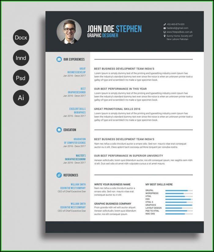 modele cv word gratuit moderne pdf maker