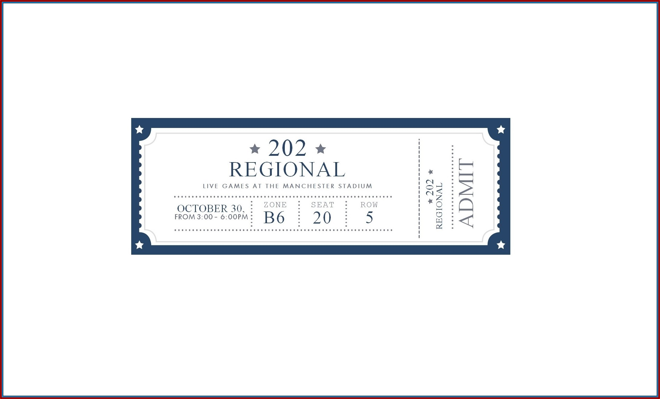 perforated ticket template