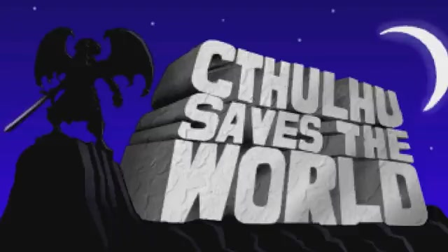 Cthulhu Saves The World available on Mac App Store
