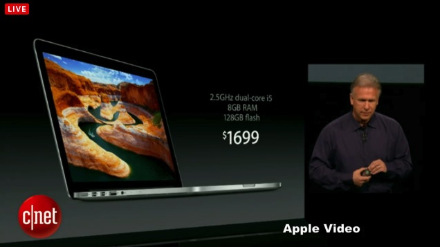 13-inch MacBook Pro With Retina now available