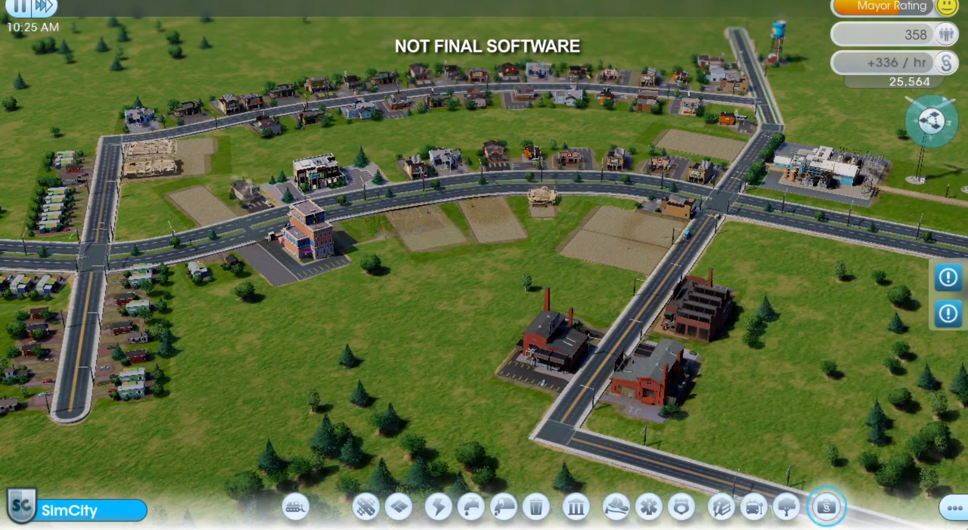 SimCity in action