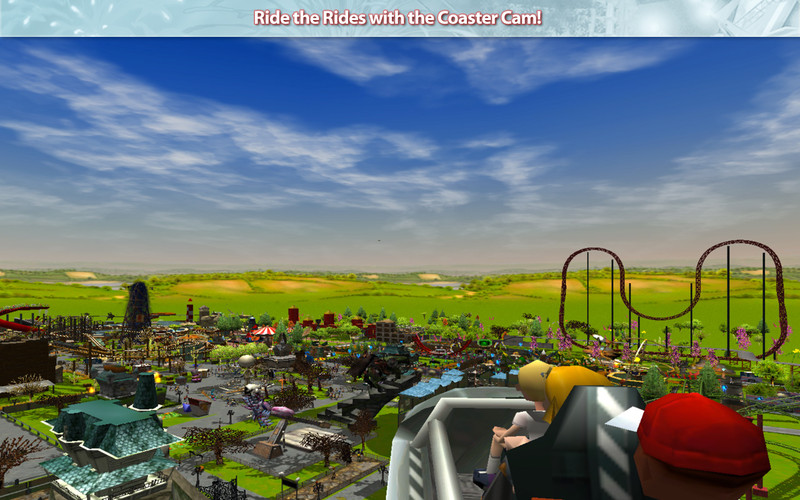 Rollercoaster Tycoon 3 Available on Mac App Store
