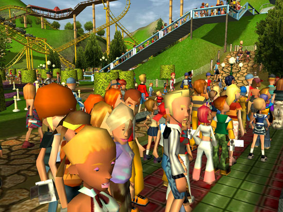 Rollercoaster Tycoon 3 Platinum Coming to Steam