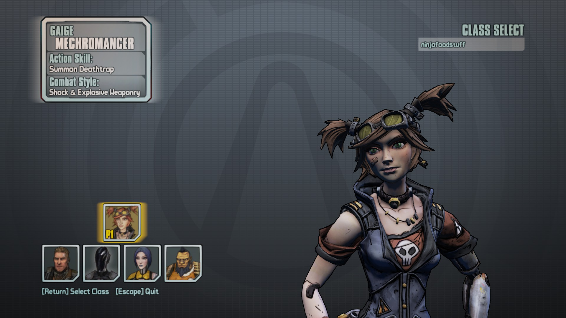 Borderlands 2: Mechromancer