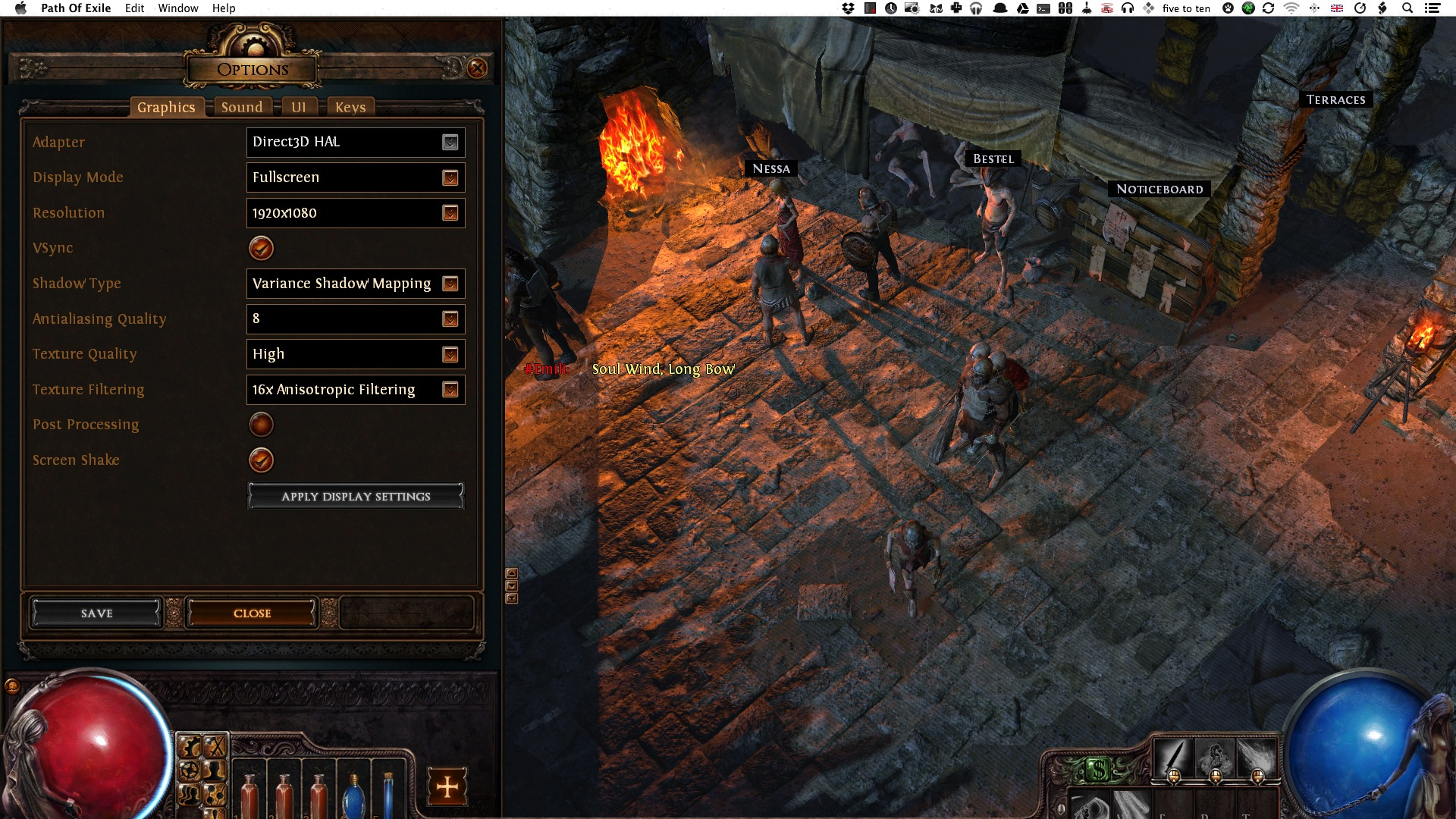"""Path of Exile's """"Unofficial"""" Mac Port"""