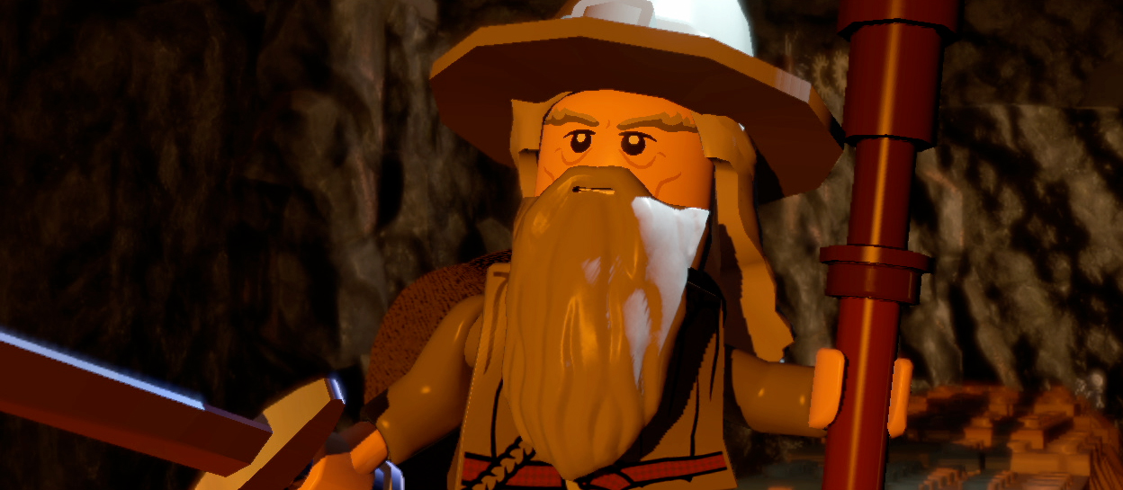 You Shall Not Pass on Lego Lord Of The Rings