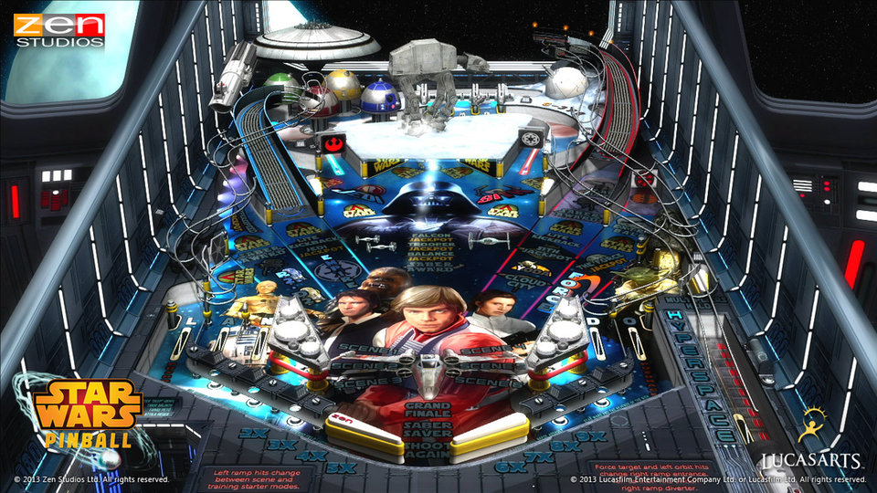Don't Force It: Star Wars Pinball Announced