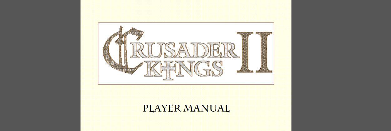 Student puts Paradox to shame with Crusader Kings 2 manual