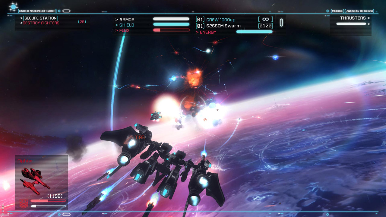 Strike Suit Zero now available on Mac