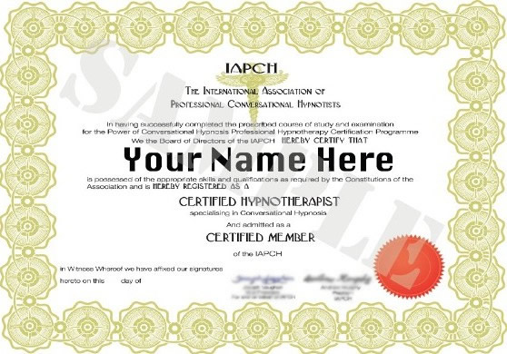 emeritus certificate examples - certification examples