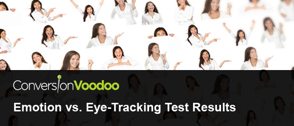 emotion vs. eye-tracking test