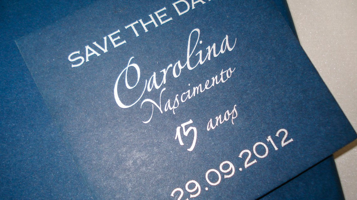 SAVE THE DATE ( 9 X 9 cm)