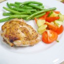 German Mustard Crusted Chicken