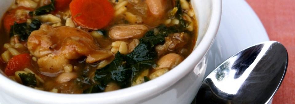 Winter White Bean Chicken Soup