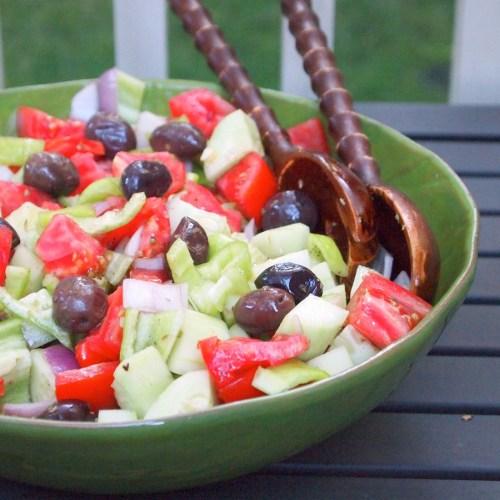 Classic Greek Salad Food Network
