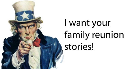 Tell us your family reunion cookbook stories