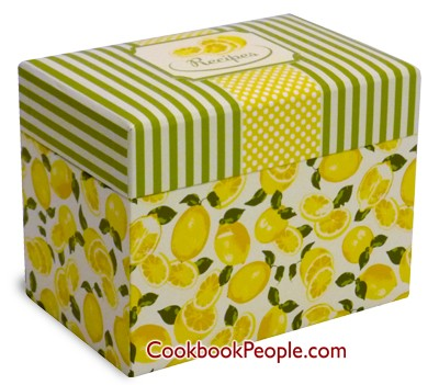 Spring Lemons Recipe Box