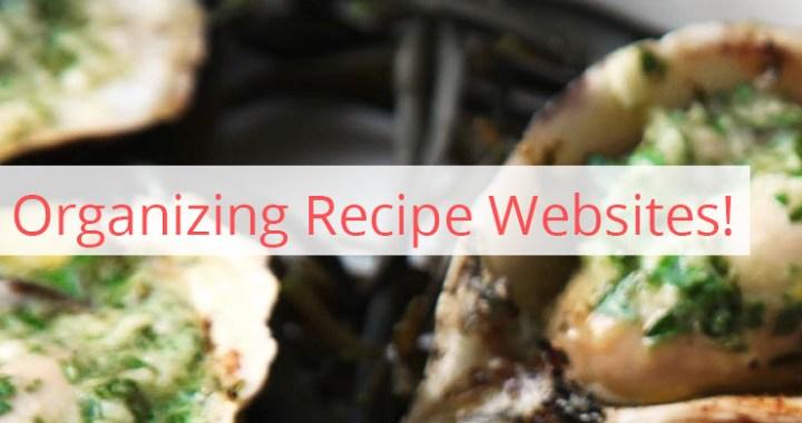 Organizing-Recipes
