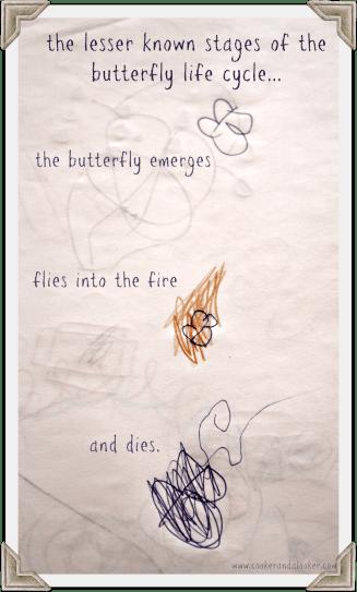 burn, butterfly, burn