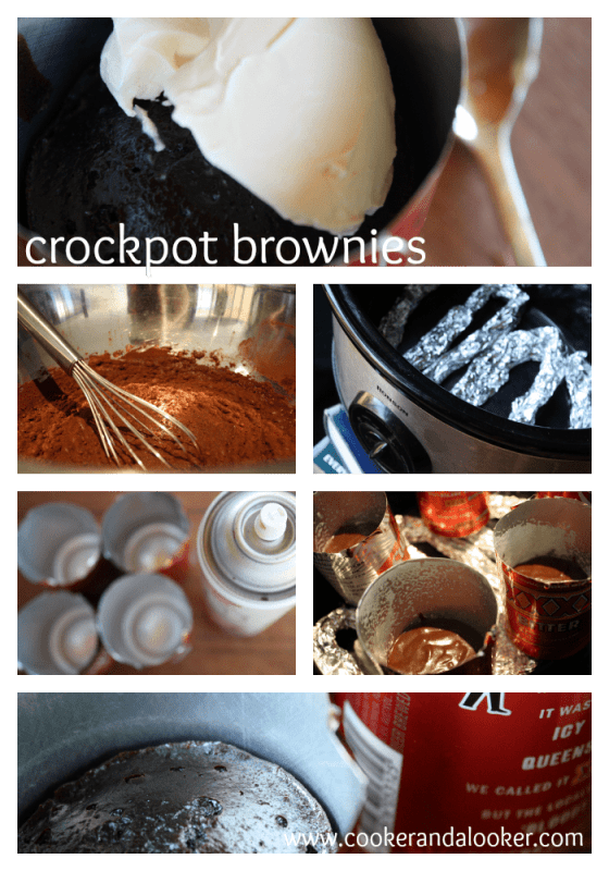 crockpot brownies from Cooker and a Looker