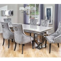 Cookes Collection Valentina Dining Table And 6 Chairs ...