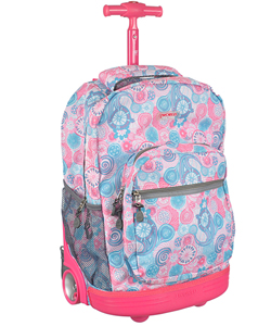 Image gallery j world rolling backpack