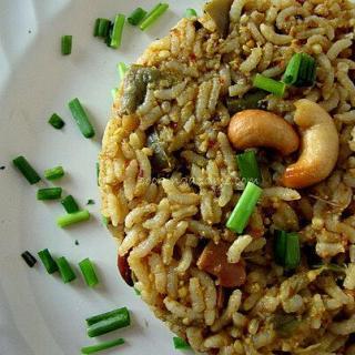 Vangi Bhath Recipe | Brinjal Rice Recipe (South Indian Rice Recipes)