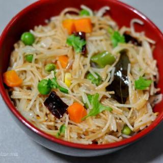 Vermicelli Upma Recipe-Semiya Upma-Vegetable Upma Recipe