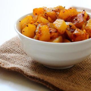 Simple Indian Potato / Aloo Roast Recipe