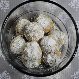 Snowball Cookies   Eggless Snowball Cookies   Christmas Cookies Recipe