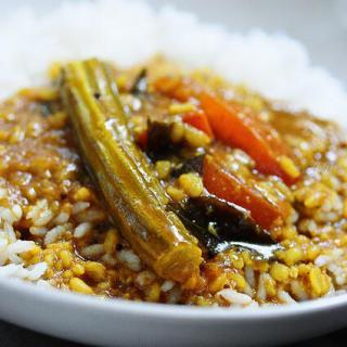 Murungakai Tiffin Sambar-Moong Dal Sambar Recipe