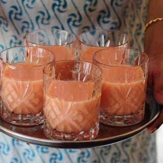 Watermelon-Melon Milkshake | Easy Milkshake Recipes