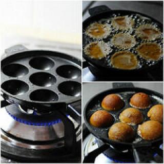 Unni Appam-Unniyappam-Neyyappam-Appam Recipe (with Rice Flour)