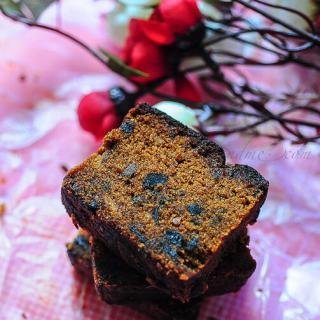 Eggless Plum Cake | Eggless Fruit Cake Recipe