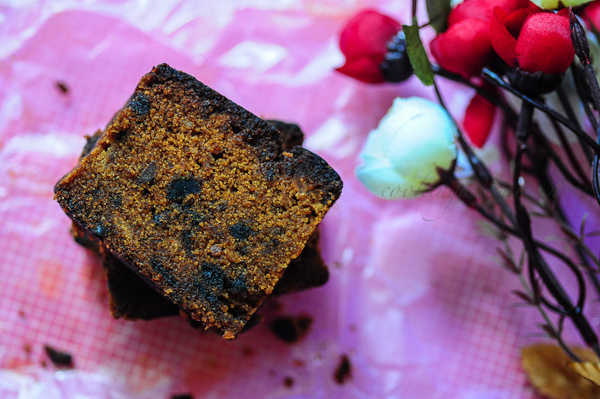 Eggless Plum Cake-Kerala Fruit Cake Recipe